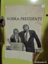 Photo: Moscow field station...pasted on the inside of one of the cabinets