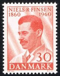 Frimærke: Niels Ryberg Finsen (1860-1904) (Danmark) (Famous Danes ...