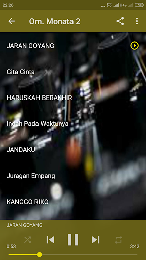 Dangdut Koplo Monata Mp3 Lengkap screenshots 3
