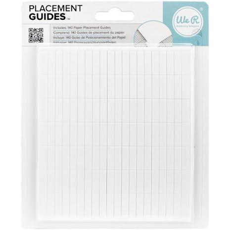 Lifestyle Crafts Letterpress Paper Placement Guides UTGÅENDE