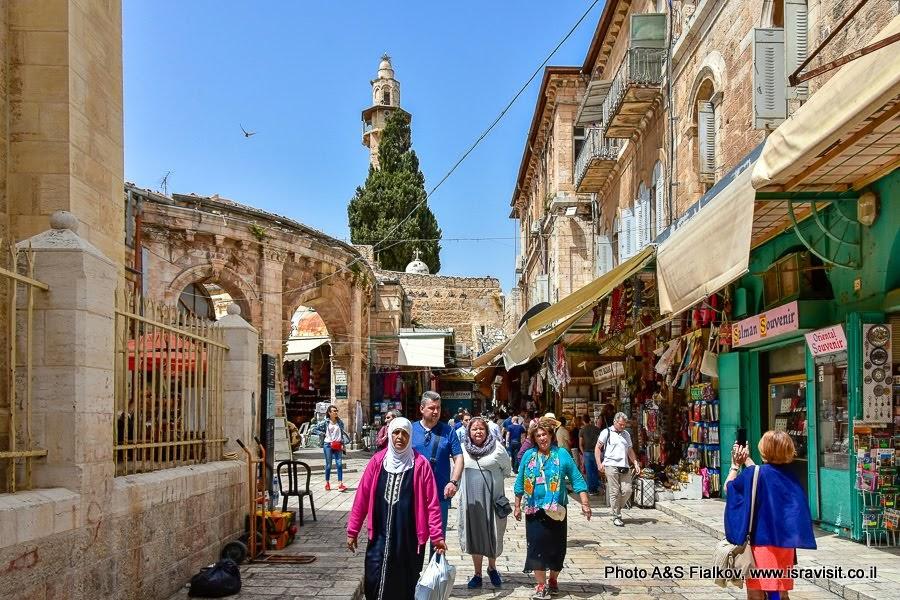 Муристан. Иерусалим. Старый город. Индивидуальная экскурсия с частным гидом в Иерусалиме.