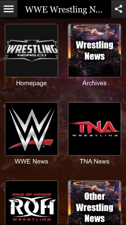 Wrestling News- screenshot