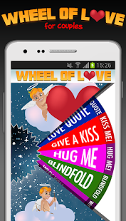 Wheel of Love ❤️ (for couples) Screenshot