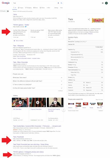 Twix-google-search