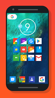 Nougat Square - Icon Pack app for Android screenshot