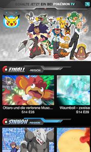 Pokémon TV – Miniaturansicht des Screenshots