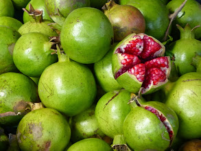 Photo: Pomegranates, San Andres Cholula
