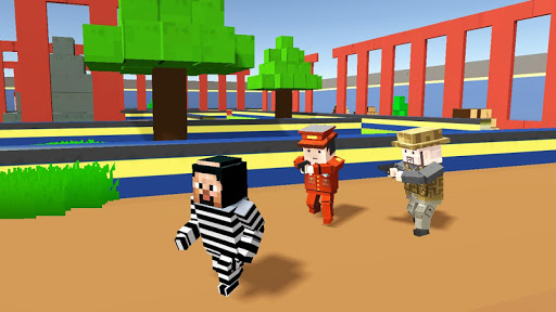 American Jail Break - Block Strike Survival Games image | 4