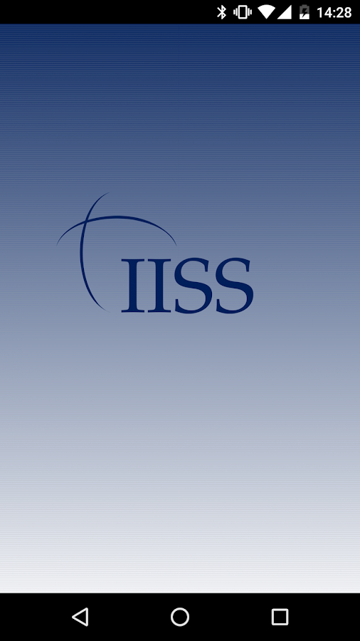 IISS Events- screenshot