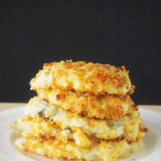Baked Mashed Potato Pancakes #SundaySupper
