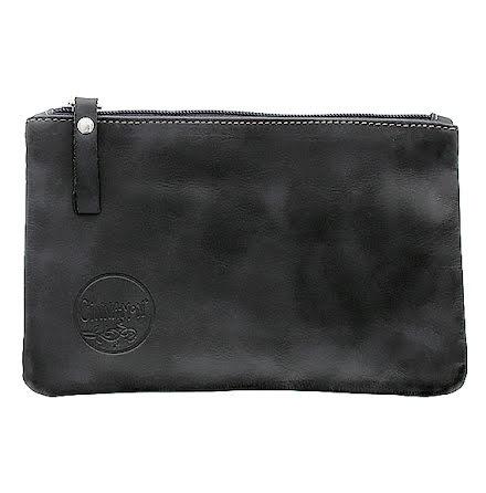 Mini väska svart i skinn med kreditkortsficka