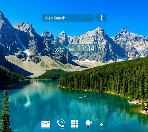 Beautiful Wallpaper Moraine Lake Theme 1.0.0 Windows u7528 1