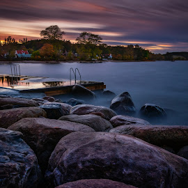 by Magnus Bengtsson - Uncategorized All Uncategorized ( seascape, fall, seaside, sunset, long exposure, autumn, landscape, sea )