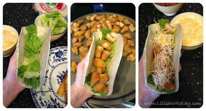 Photo: build your taco...
