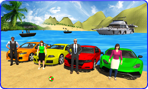 Water Surfing Car Racing 3D - náhled