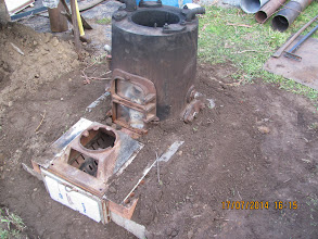 Photo: Fire pit and boiler