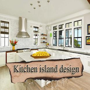 Kitchen island design - náhled