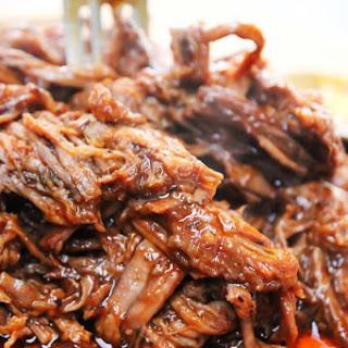 Easy Barbecue Beef Brisket.