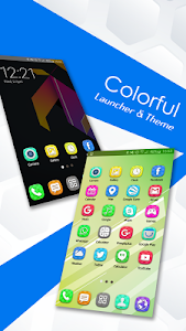 Colorful Launcher Theme FREE screenshot 2