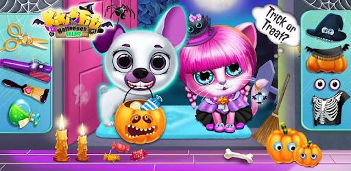 Kiki & Fifi Halloween Salon - Scary Pet Makeover for PC