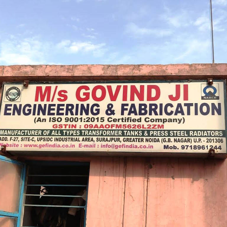 Govind Ji Engineering and Fabrication - Metal Fabricator in