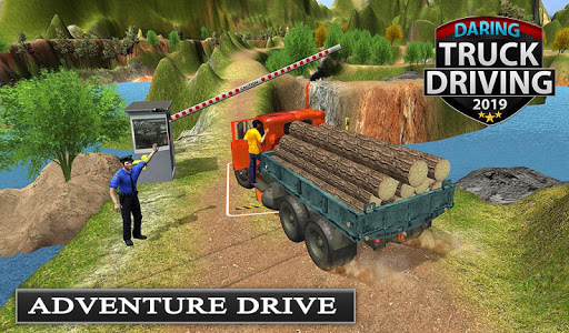 Offroad Transport Truck Driving - Jeep Driver 2019  screenshots 13