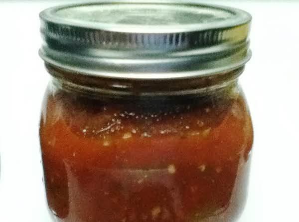 Thick Tomato Salsa