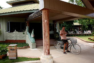 Photo: Year 2 Day 57 -  Outside Our Hotel - The Kumudara