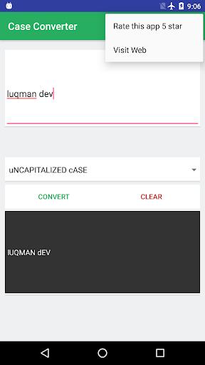 Screenshot 6 Case Converter
