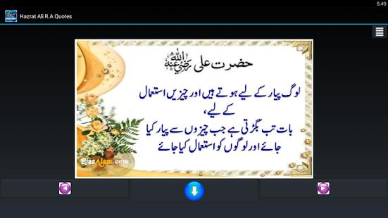 Hazrat Ali (RA) Quotes / Aqwal - náhled