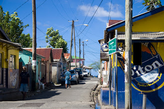 Photo: Karayip sokakları Streets in the Caribbean