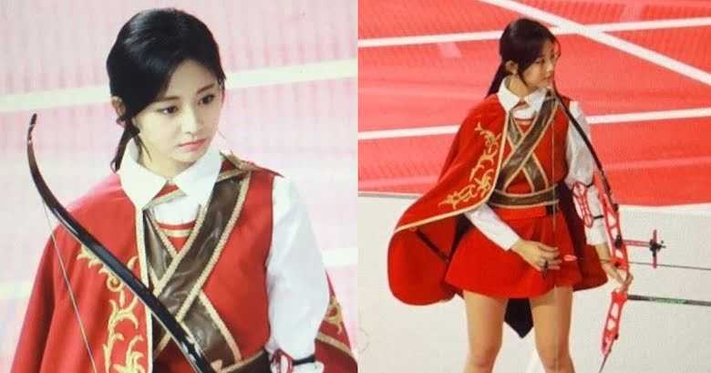 Tzuyu Made Kim Se Jeong S Jaw Drop At The Idol Star Athletics Championships Koreaboo