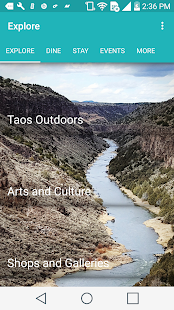 Visit Taos- screenshot thumbnail