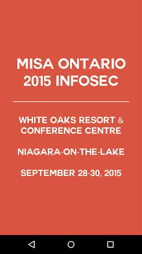 MISA Ontario Event App