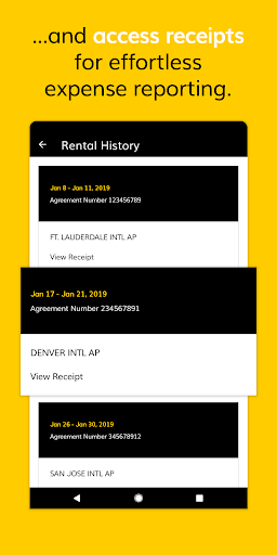 Hertz Car Rental  screenshots 4