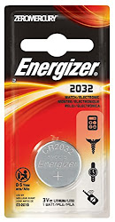 Energizer 2032 Watch Battery - 3V