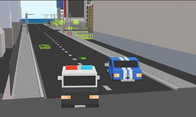 Blocky Emergency Parking - screenshot