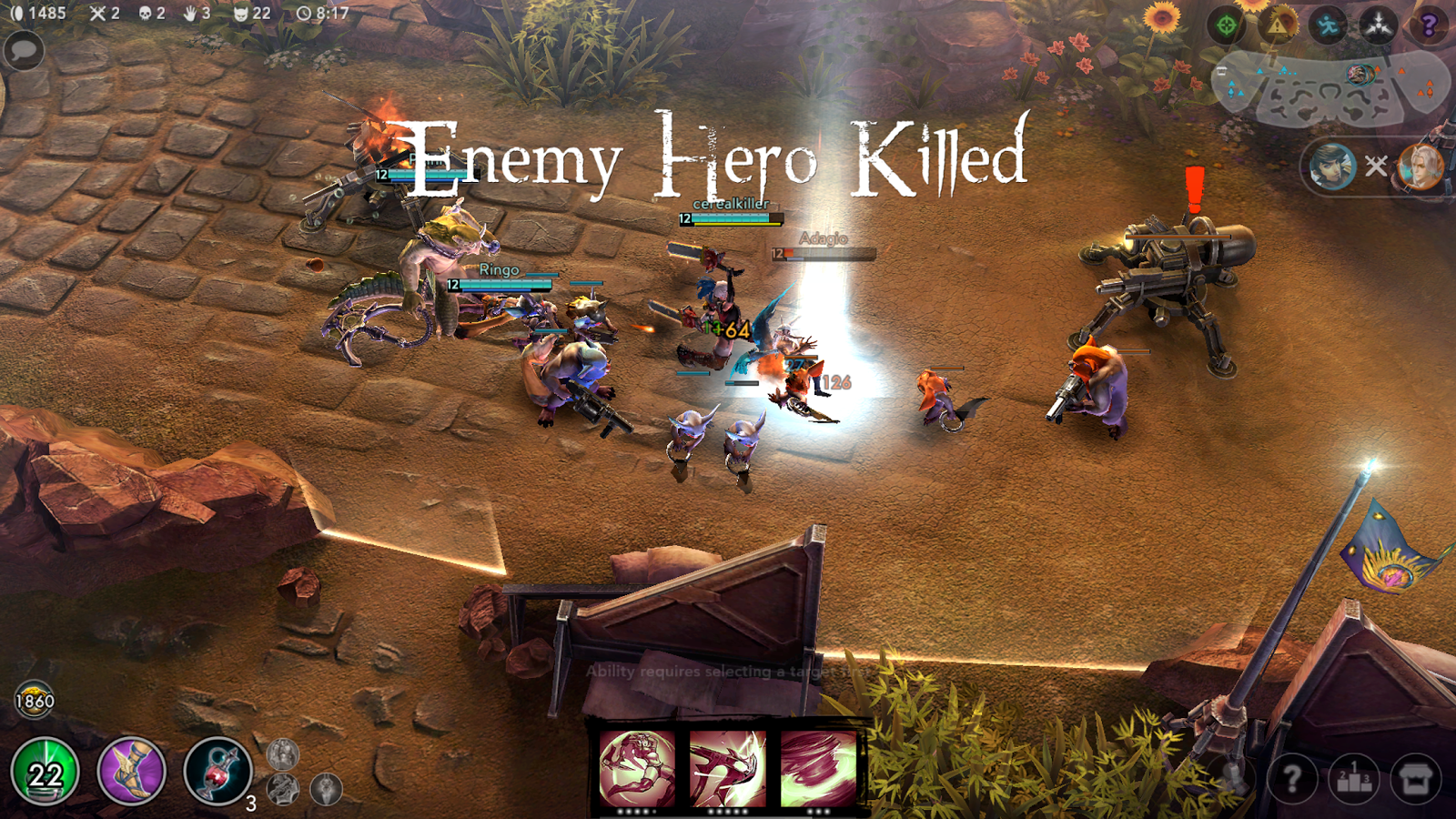 Screenshots of Vainglory for iPhone