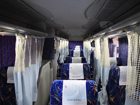 近鉄バス「ひなたライナー」 2256 車内