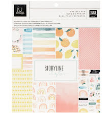 Heidi Swapp Storyline Chapters Project Pad 7.5X9.5 - The Journaler