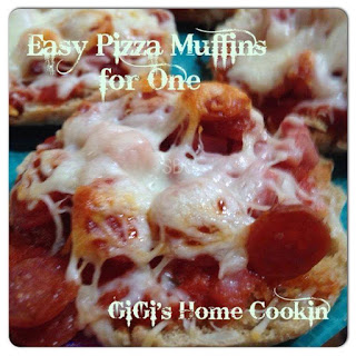 Easy Pizza Muffins for One