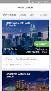 HolidayMe - Hotels & Holidays- screenshot thumbnail