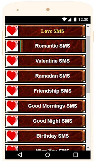 Love Text Messages - Love Text for Her, Love msg App Report on