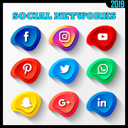 Social Networks 2019 All Social Media in one