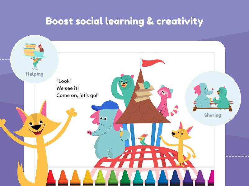 Khan Academy Kids: Free educational games & books Screenshot 16