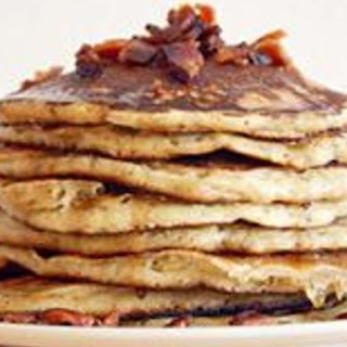 Bourbon Bacon Pancakes.
