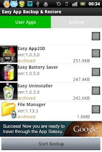 Easy App Backup & Restore App Download For Android 1