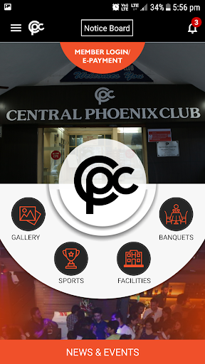 central phoenix club screenshot 2