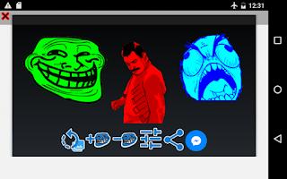 Screenshot of Rage Meme