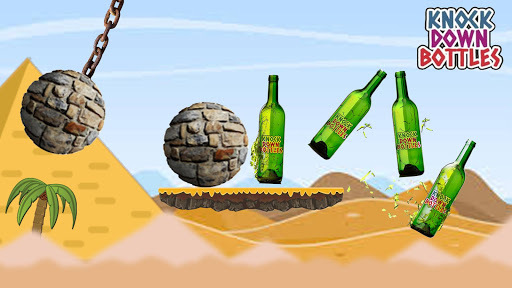 Knockdown Bottles : A Catapult Game 2.3.11 APK MOD screenshots 2